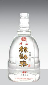 高白玻璃瓶- 008