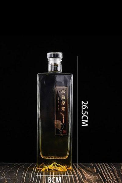 晶白酒瓶- 003