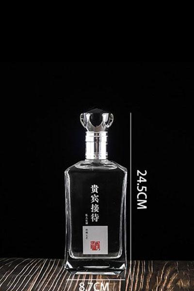 晶白酒瓶- 005