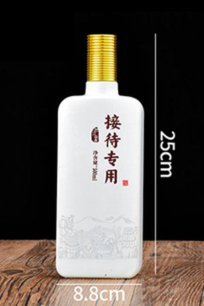 乳白瓶- 001